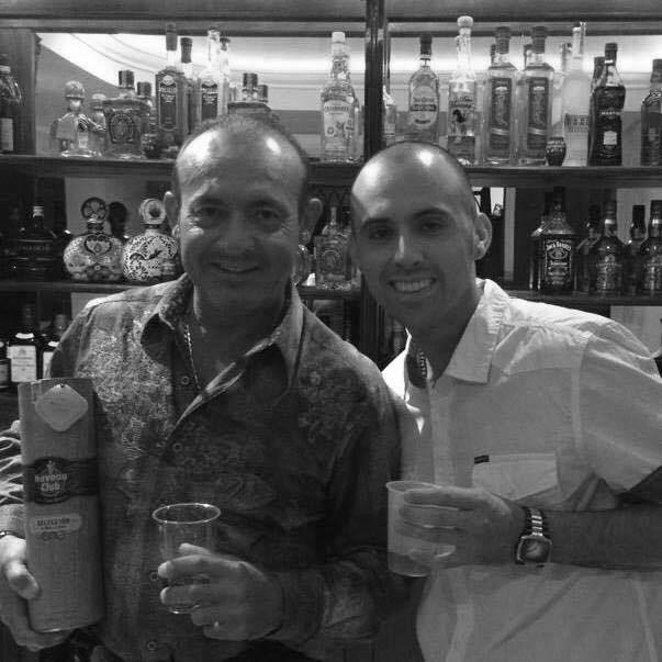 Marco Ramos and his nephew Raul Lecona